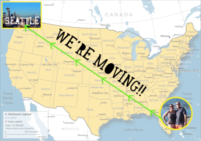 Moving, Orlando to Seattle